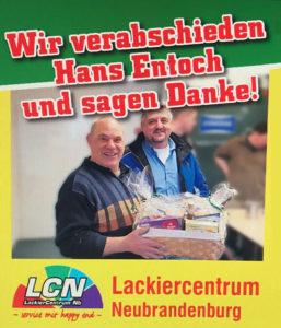 LCN-Mitarbeiter geht in Ruhestand